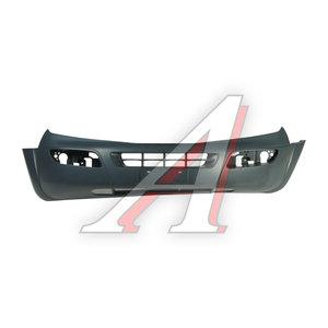 Бампер SSANGYONG Rexton (02-) передний (под молдинг/без парктроников) (уценка) OE 7871108103X