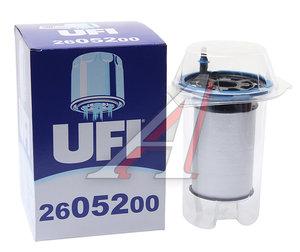 Фильтр топливный PEUGEOT Boxer CITROEN Jumper FIAT Ducato (06-) (2.3) UFI 26.052.00, 77366607