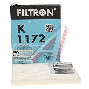Фильтр воздушный салона OPEL Corsa D FIAT Grande Punto (05-) FILTRON K1172, LA306