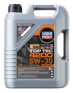 Масло моторное TOP TEC 4200 синт.5л LIQUI MOLY LM SAE5W30 7661