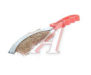 Щетка металлическая изогнутая с пластмассовой ручкой ТЕХМАШ ТЕХМАШ 11899, 11899
