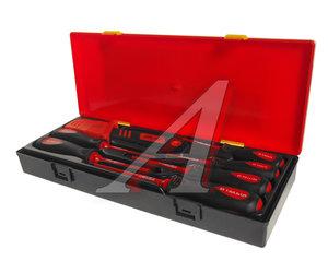 Набор отверток SL 3-SL5.5, PH0-PH2 диэлектрических с ножом 7 предметов JTC JTC-K9071