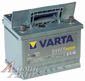 Аккумулятор VARTA Silver Dynamic 54А/ч обратная полярность 6СТ54 C30, 554 400 053 316 2
