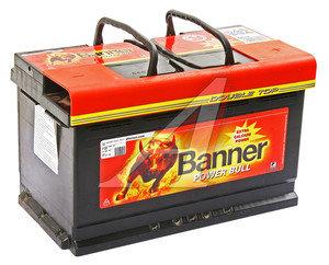 Аккумулятор BANNER Power Bull 80А/ч обратная полярность, низкий 6СТ80 P80 14, 83385