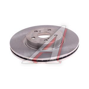 Диск тормозной TOYOTA Avensis (03-08) передний (1шт.) KORTEX KD0197, DF4445S, 43512-05050