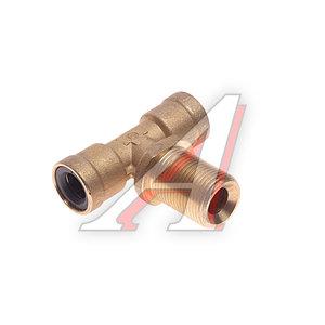 Соединитель трубки ПВХ,полиамид d=12мм-12мм (наружная резьба) М20х1.5 тройник латунь CAMOZZI 9410 12-M20X1.5
