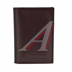 Бумажник водителя BROWN натуральная кожа (в коробке) АВТОСТОП БВЛ6К