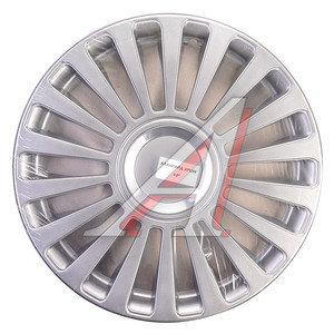 Колпак колеса R-13 серый хром комплект 4шт. АВАНГАРД АВАНГАРД хром R-13