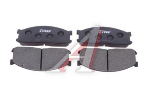 Колодки тормозные KIA Bongo 3 передние (4шт.) TRW GDB737, 0K60B-33-28Z