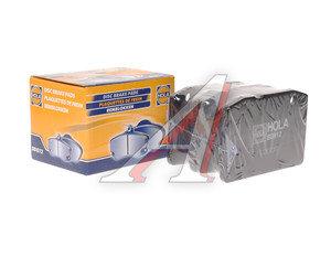Колодки тормозные ВАЗ-2101 передние (4шт.) HOLA 2101-3501090, BD812, 2101-3501089