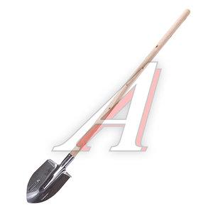 Лопата штыковая нержавеющая сталь с деревянным черенком ИСТОК Сборка, 936072/912494/014652