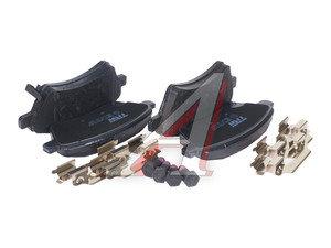 Колодки тормозные SUZUKI SX4 (06-) передние (4шт.) TRW GDB1673