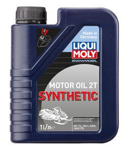 Масло моторное для 2-х тактных двигателей SNOWMOBIL MOTOROIL 2T синт.LIQUI MOLY LM 2382