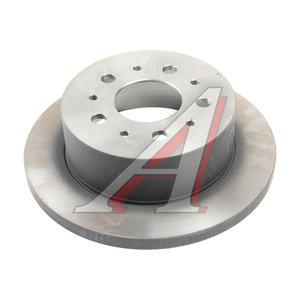 Диск тормозной PEUGEOT Boxer (06-) CITROEN Jumper (06-) задний (1шт.) TRW DF4770, 424931/4249K7/51740245/424930/4249K7