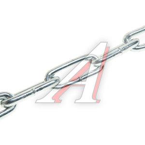 Цепь d=10мм сварная длинное звено 1м DIN763