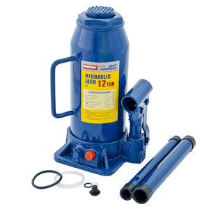 Домкрат бутылочный 12т 230-465мм с клапаном MEGAPOWER M-91204, ДГ12-3913010