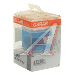 Светильник CUBY LED BLACK 5х5х5см LI-ION батарея, USB 5V OSRAM O-56480