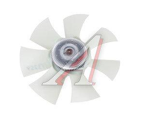 Вентилятор УАЗ-3163 (белый пластик) с гидромуфтой в сборе Н/О BORG WARNER (ОАО УАЗ) 3162-1308008, 2363-20-1308008-00