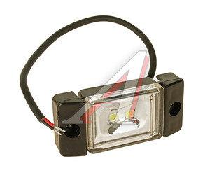 Фонарь габаритный LED 24V, белый (2-светодиода) АВТОТОРГ НК-0066/LED б