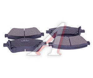 Колодки тормозные TOYOTA Auris (06-) передние (4шт.) SANGSIN SP1500, GDB3481