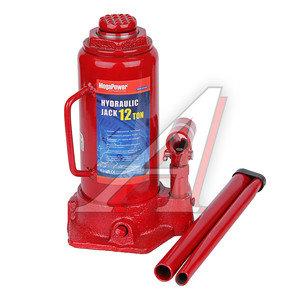 Домкрат бутылочный 12т 230-465мм MEGAPOWER M-91203, ДГ12-3913010