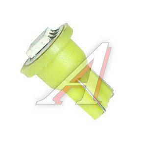 Лампа светодиодная 12V W5W T10W W2.1x9.5d бесцокольная Super Bright Yellow MEGAPOWER 50416Y, M-50416Y-OLD, А12-5-2