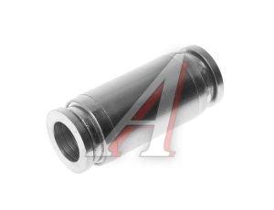 Соединитель трубки ПВХ,полиамид d=8мм прямой металлический MPUC08, АТ-0384/АТ10384