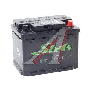 Аккумулятор STELS 55А/ч обратная полярность 6СТ55