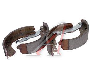 Колодки тормозные DAEWOO Nexia, Espero, Lanos, Nubira (88-) задние барабанные (4шт.) TRW GS8543, 96226110/96430417/96496764