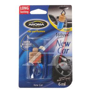 Ароматизатор подвесной жидкостный (новая машина) Car Wood AROMA 63110, Aroma Car Wood (new car)