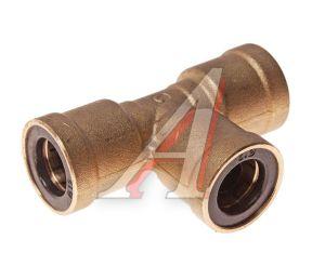 Соединитель трубки ПВХ,полиамид d=12мм тройник латунь CAMOZZI PUT12, 9540 12, 893 860 374 0