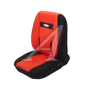 Авточехлы универсальные велюр (поддержка спины) черно-красные (11 предм.) Comfort AUTOPROFI COM-1105 BK/RD (M)