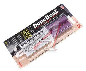 Клей для пластика полиадгезив 15-минутный в шприце 28.4г DONE DEAL DD6580