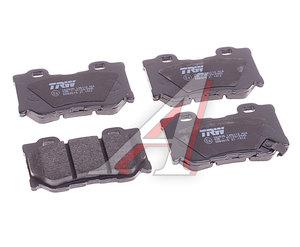 Колодки тормозные INFINITI FX37 задние (4шт.) TRW GDB3515