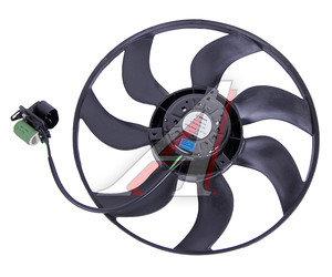 Мотор охлаждения радиатора CHEVROLET Cruze (09-) (1.6/1.8),Orlando (11-) (с крыльчаткой) АКПП OE 13335182