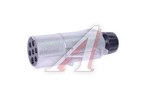Разъем 7-полюсный основной (вилка металл) VIGNAL 611530, 00590990, 01.020.7200.080