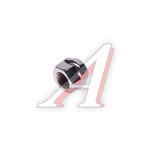 Гайка колеса М12х1.5х17 конус открытая под ключ 19мм RACING 11324