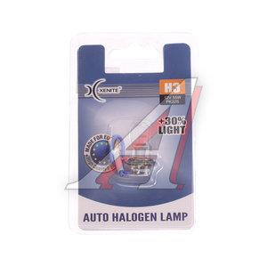 Лампа 12V H3 55W PK22s +30% блистер 1шт. XENITE 1007088