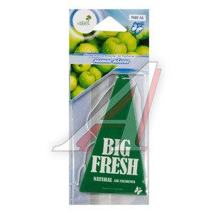 Ароматизатор подвесной пластина (яблоко зеленое) Big Fresh FKVJP PABF-56 \Big Fresh, PABF-56