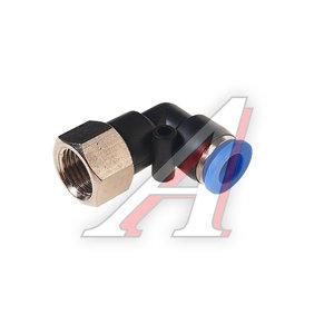 """Фитинг для пластиковых трубок 1/4"""" угловой 8мм с внутренней резьбой ROCK FORCE RF-SPLF08-02"""