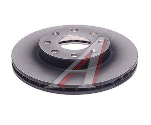 Диск тормозной CHEVROLET Aveo (03-) передний (236мм) (1шт.) TRW DF4439, 96471274/96574633
