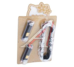 Набор аксессуаров (чехол на зеркало заднего вида+накладки на ручки дверей 2шт.) HELLO KITTY HSK-002