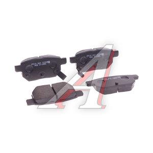 Колодки тормозные TOYOTA Corolla (10-) задние (4шт.) HSB HP5181, GDB7729YO/GDB3454, 04466-21020