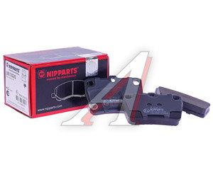 Колодки тормозные TOYOTA Rav 4 (00-05) задние (4шт.) NIPPARTS J3612020, GDB3279, 04466-42020/04466-42030/04466-42040/04466-42050