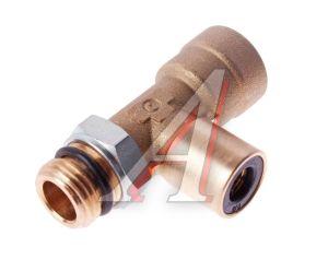 Соединитель трубки ПВХ,полиамид d=8мм-12мм (наружная резьба) М16х1.5 тройник латунь CAMOZZI 9422 12-8-M16X1.5, 9422 12-8-M16X1,5C