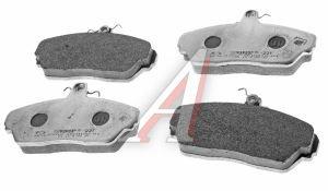 Колодки тормозные ГАЗ-3110,3302 передние (4шт.) в упаковке ГАЗ Оригинал (ОАО ГАЗ) 3302-3501800-02, 3302-3501170