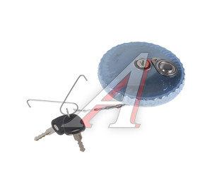Крышка бака топливного КАМАЗ полуоборотная с ключом сталь (нержавеющая сталь) FAH-LER FAH 80 AK, 65115-1103010