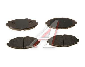 Колодки тормозные DAEWOO Nexia, Matiz (98-) CHEVROLET Lanos, Spark (05-) передние (4шт.) OE 96316582, GDB3195