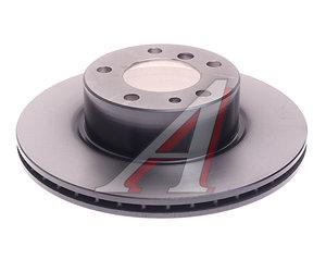 Диск тормозной BMW 5 (E34),7 (E32) передний (1шт.) TRW DF2556, 34111160936