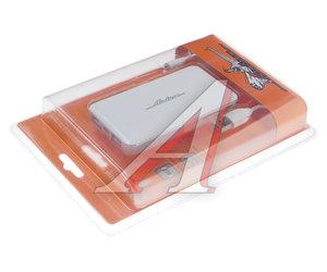 Аккумулятор внешний 6000мА/ч (2 USB 2.1A+1A) для зарядки мобильных устройств PowerBank AIRLINE APB-06-02